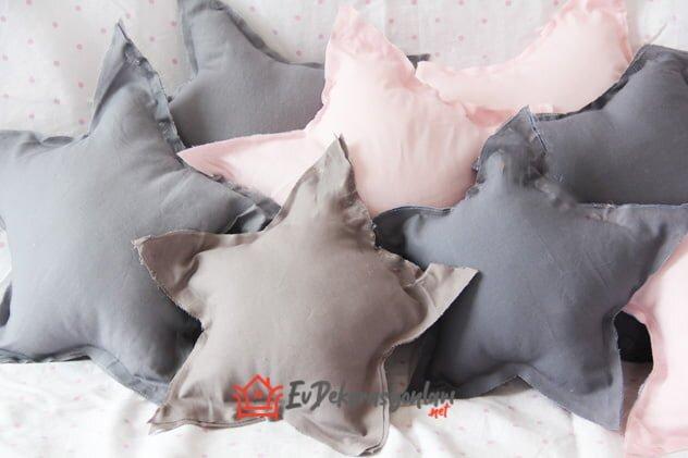 bebek odasi yildiz yastik modeli