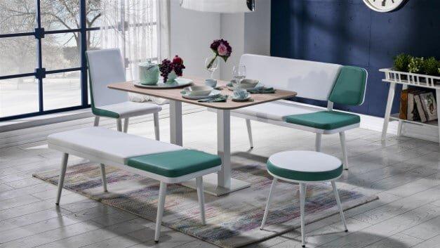 bellona mobilya ayda bankli mutfak masasi takimi modeli 2019