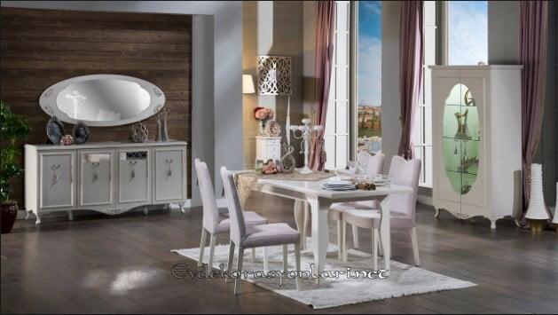 bellona mobilya belissa yemek odasi takimi modeli