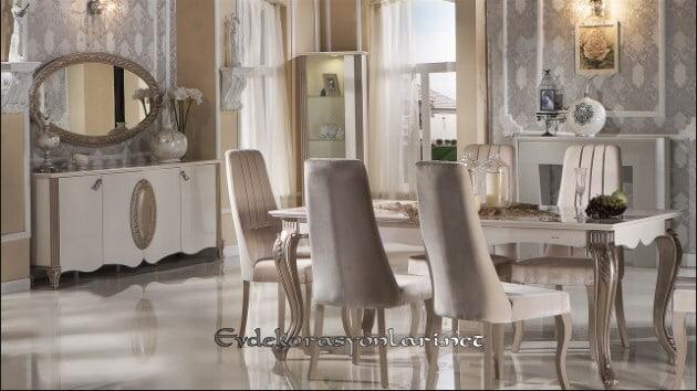 bellona mobilya golden yemek odasi takimi modeli