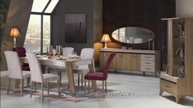 bellona mobilya liona yemek odasi takimi modeli