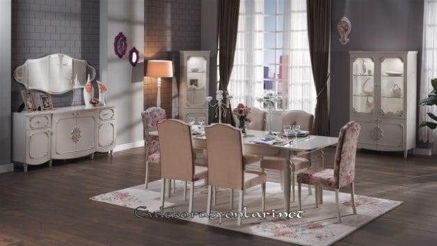 bellona mobilya romeo yemek odasi takimi modeli