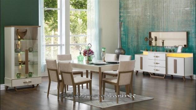 bellona mobilya sierra yemek odasi takimi modeli