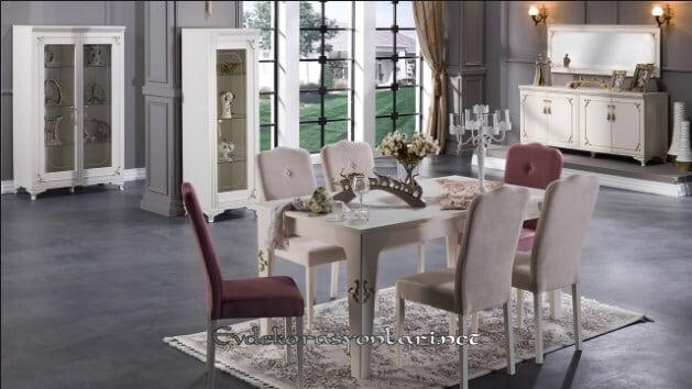bellona mobilya valdes yemek odasi takimi modeli