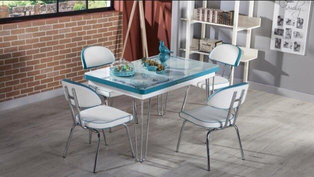 bellona mobilya vega mutfak masasi takimi modeli 2019