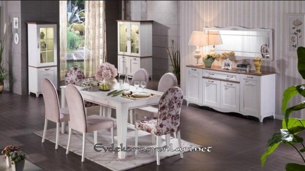 bellona mobilya venturo yemek odasi takimi modeli