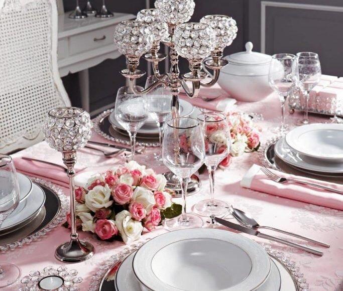 bernardo porselen bridal yemek takimi modeli