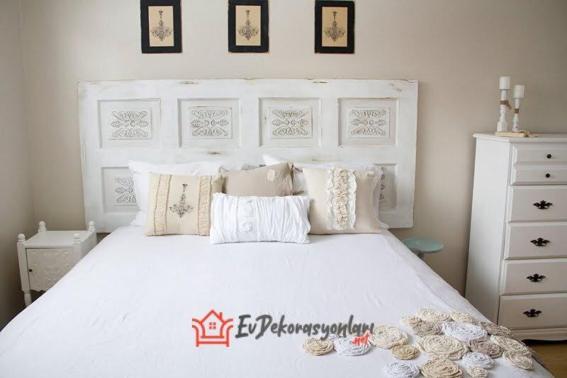 beyaz aydinlik yatak odasi dekorasyon ornekleri 2020