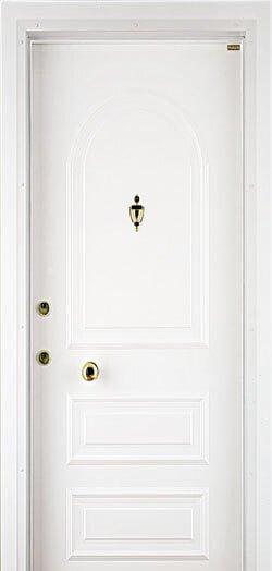beyaz çelik kapı modelleri