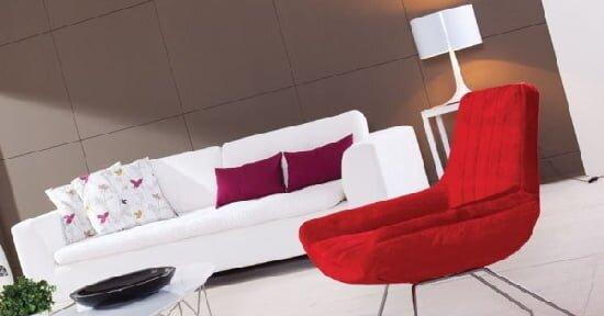 beyaz kanepe modeli