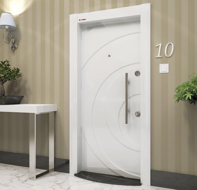 2019 Estetik Ve Güvenlikli Çelik Kapı Modelleri