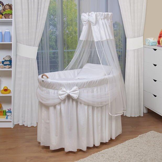 beyaz tasinabilir bebek besigi modeli