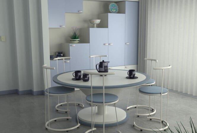 Beyaz Yemek Odaları