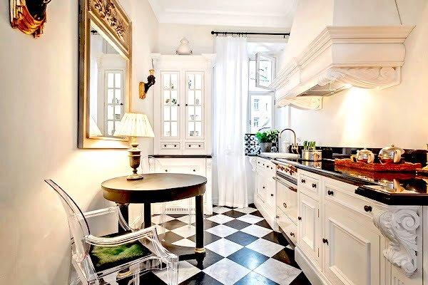 Aydınlık Ve Zarif Beyaz Mutfak Dekorasyon Önerileri