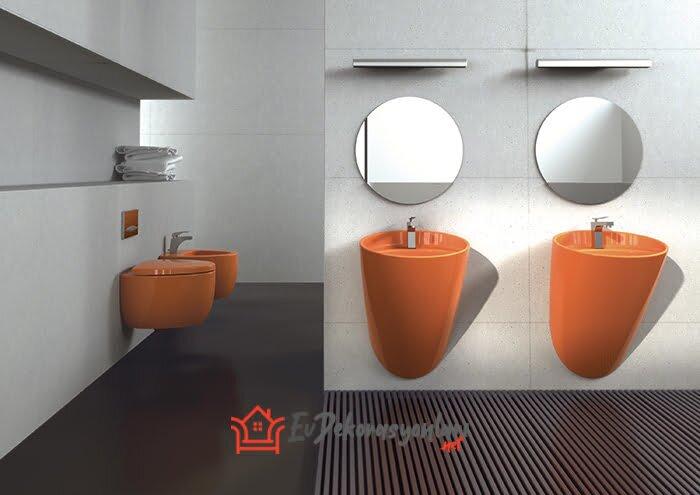 bocchi renkli banyo koleksiyonu