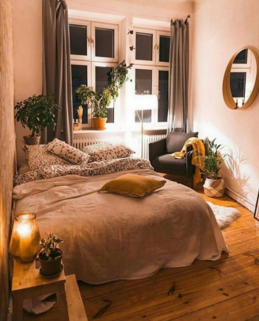 Bohem Yatak Odası Dekorasyonu