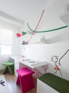 çocuk çalışma odaları