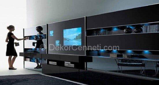 özel tasarım tv üniteleri (2)