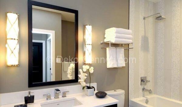 şık banyo dekorasyonları