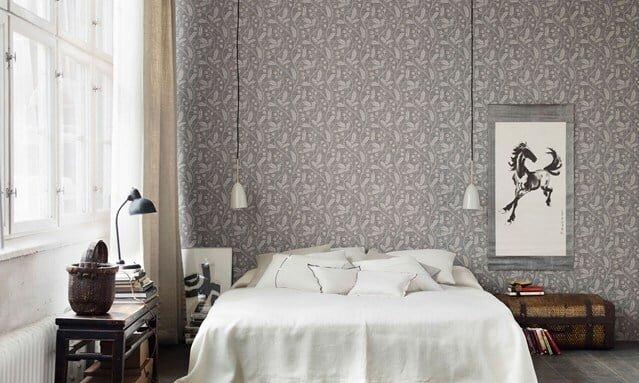 şahane yatak odası dekorasyonu