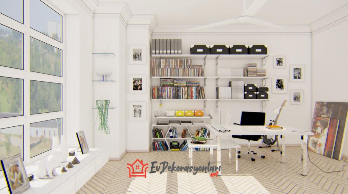 Çalışma Odası Dekorasyonu Nasıl Yapılır?