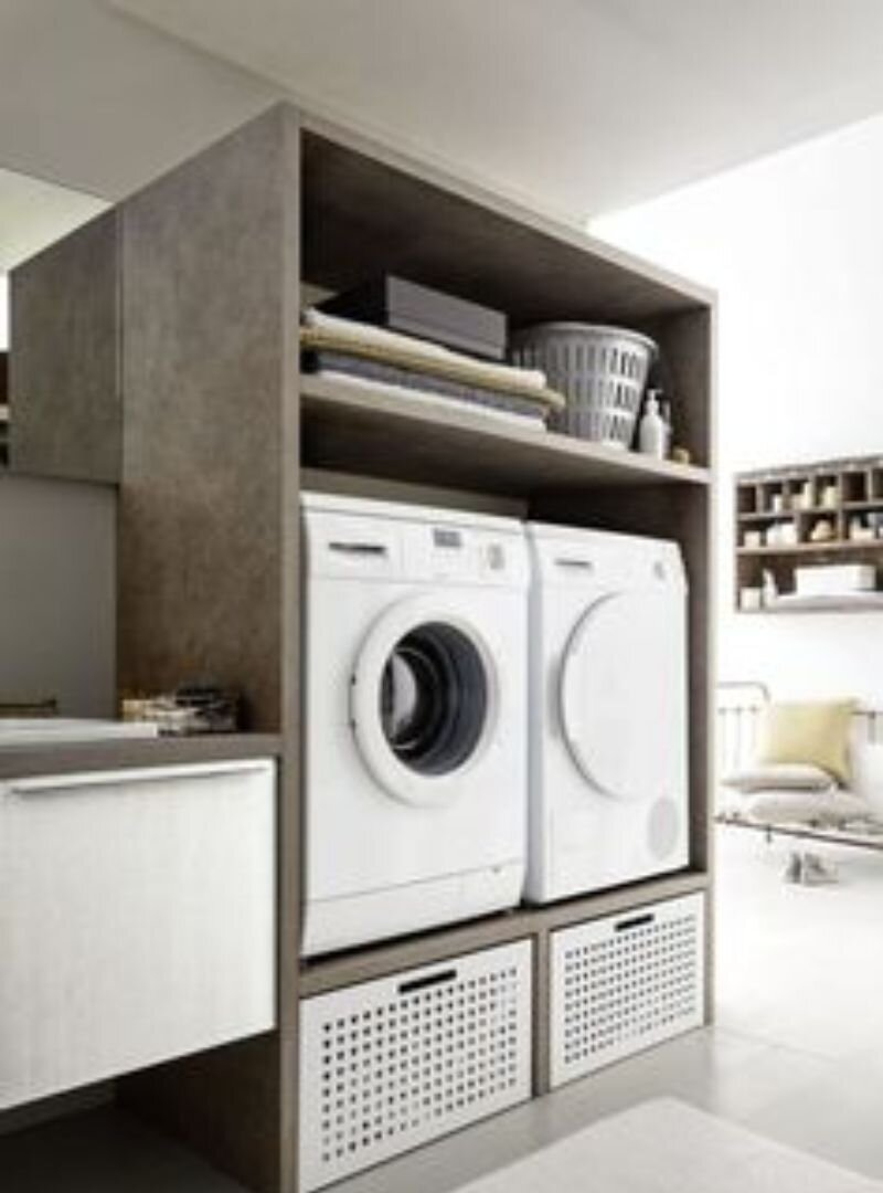 Çamaşır Makinalı Banyo Dolabı Modelleri ve Fiyatları