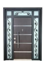 camlı çelik kapılar