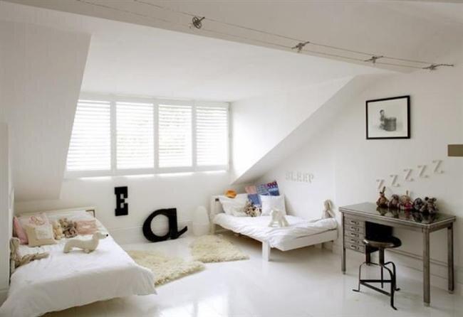 cati kati cocuk odasi dekorasyon modeli