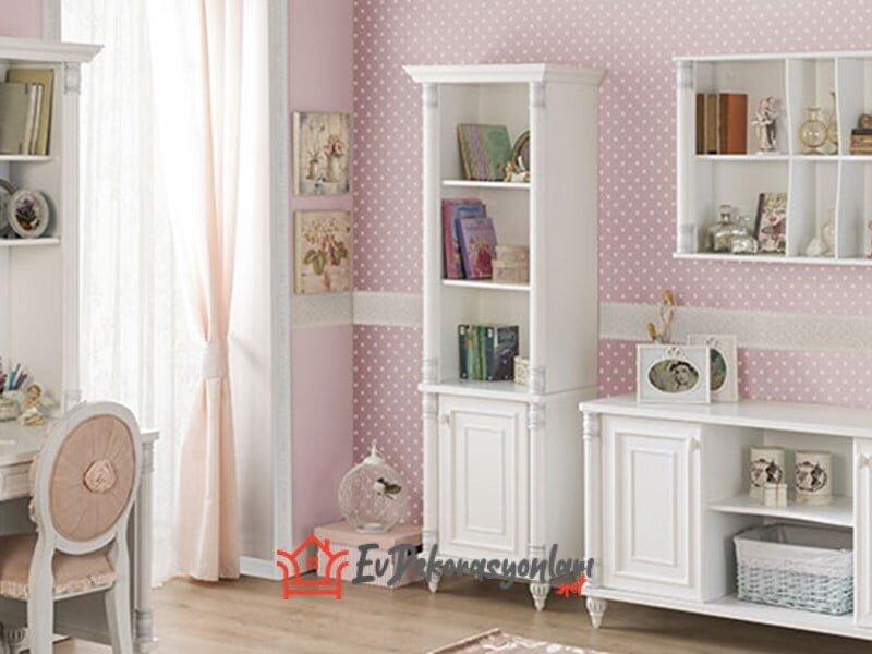 cilek romantik genc odasi mobilya modelleri