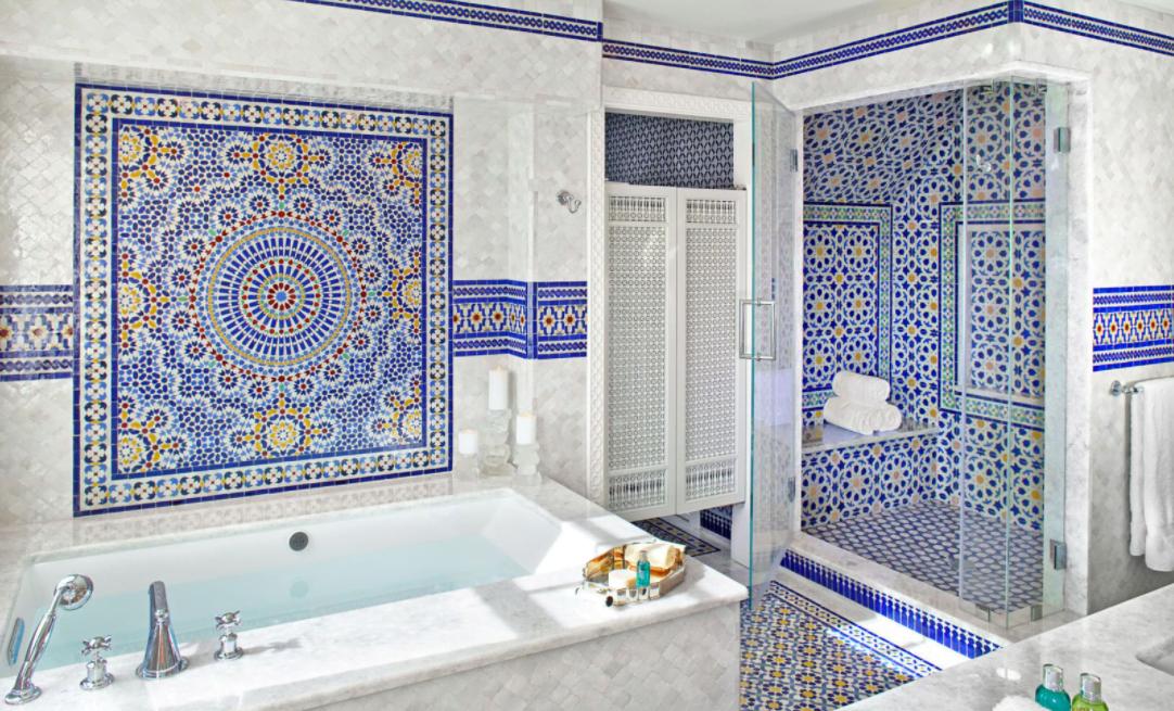 Mavi Banyo Dekorasyonu için Öneriler