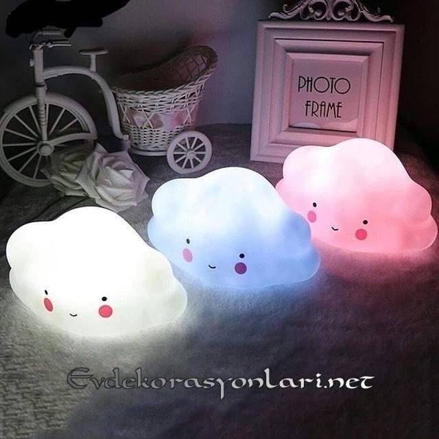 cocuk odasi bulut gece lambasi modelleri 2019