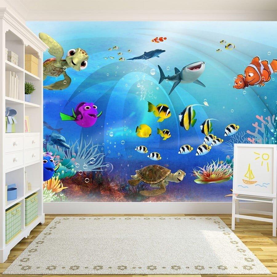 Çocuk Odası Duvar Kağıdı Modelleri