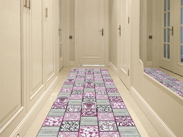 confetti patchwork desenli yolluk hali modeli