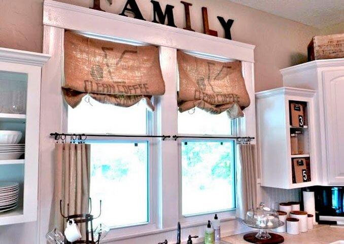 cuval bezinden dekoratif mutfak perdesi modelleri