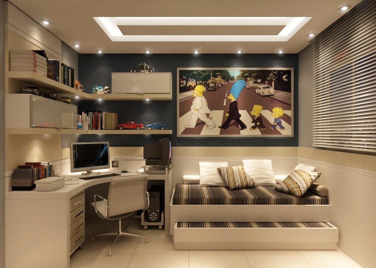 Dar  Genç Odası Dekorasyonu Fikirleri