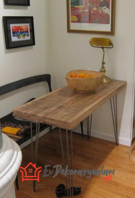 Dar Mutfak Masası Modelleri