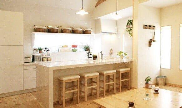 Değişik bar masalı mutfak Resimleri
