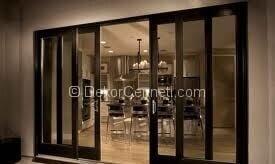 Değişik cam kapı perde modelleri Fotoğrafları