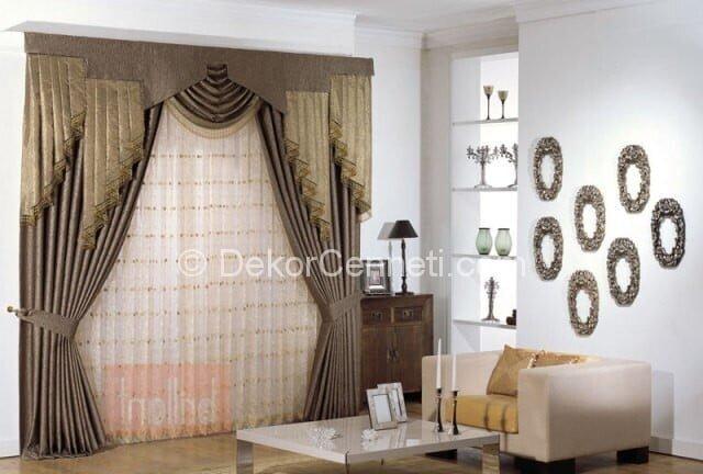 Değişik english home salon perde modelleri Galerisi