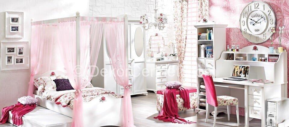Değişik genç odası yatak başlığı Fotoları