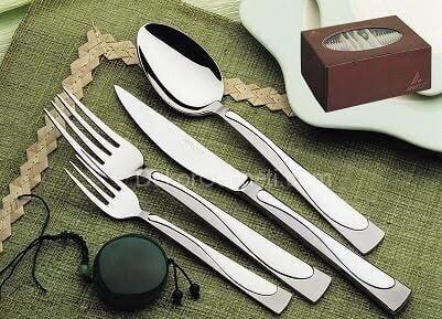 Değişik hisar çatal bıçak takımı Fotoları