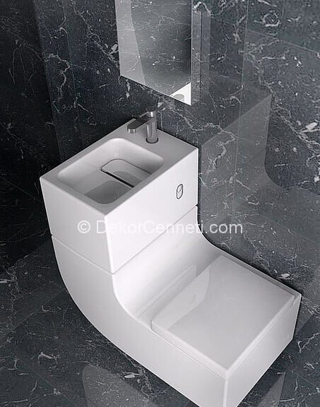 Değişik ikili lavabo Resimleri
