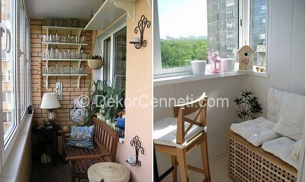 Değişik kapalı balkon perde modelleri Galeri