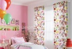 Değişik kız çocuk odası perdesi Fotoğrafları
