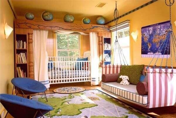 degisik-modern-bebek-odasi-dekorasyonu