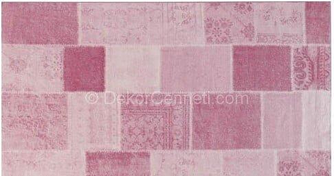 Değişik patchwork halı kullanımı Galerisi