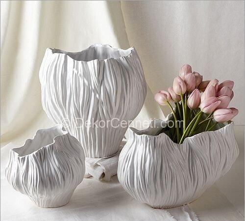 Değişik seramik hamuru ile vazo Galerisi
