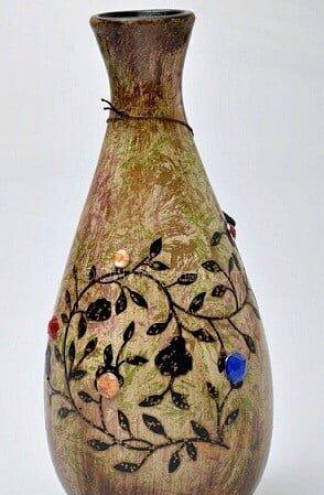 Değişik seramik vazo seramik boyama ahşap boyama Görselleri