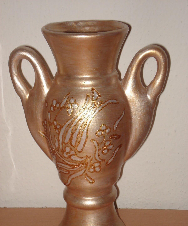 Değişik sucuk tekniği seramik vazo Görselleri