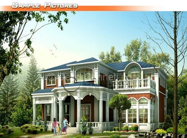 Değişik villa mimarisi Modelleri
